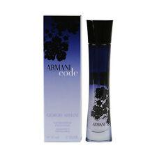 Perfumes de mujer Eau de parfum Armani Code sin anuncio de conjunto