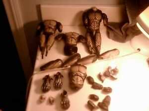 1/6 Hot Toys Predator,Bodys and body parts used