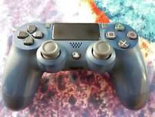 Used Sony DualShock 4 (3002840) PS4 Wireless Controller - Midnight Blue