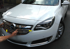 VAUXHALL/OPEL INSIGNIA S.Steel Chrome Front Grill Trims 4 Pieces [2013-2016]