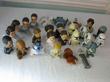 28 Star Wars Toys~Burger King & Others~Big Head Characters From The Movies~Fun