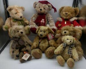 Teddy bears Job Lot Boyds Harrods Russ collectable