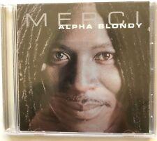 Alpha Blondy 'Merci' Shanachie Records CD (2002) Roots Reggae New Sealed Rare