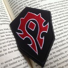 The Horde Flag Patch ORC Militaria Morale Punk patches Embroidered Badge