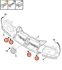 Genuine CITROEN//PEUGEOT Underbody Protección Del Motor Cubierta enjaulado Tuerca