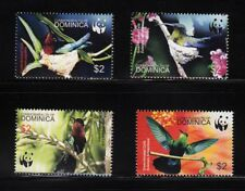 103840/ Dominica 2005 - Mi 3635/8 - tropische Vögel / WWF - **