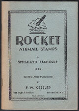 1935 Rocket Airmail Stamps F.W.Kessler Specialised Catalogue