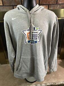 Nike Team Verizon WNBA ALL Star Basketball Hooded Sweatshirt Mens XXL Minnesota