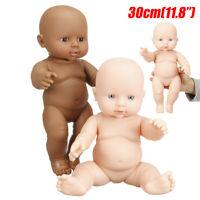 12'' Handmade Vinyl Reborn Baby Dolls Lifelike Dolls Girl GIFT TOY