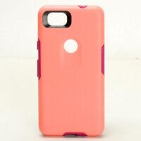 For Google Pixel 2 (2nd Gen) Shockproof Case Cover  - Light Orange / Purple
