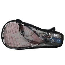 Ektelon Power Fan 1100 Racquetball Racket Ball Carrying Case With Balls &Glasses