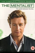 THE MENTALIST - The Complete Season 4 - DVD Boxset *NEW & SEALED*
