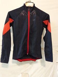 Louis Garneau Women's Glaze 3 RTR Jacket Small Red/Navy Retail $109.99