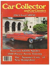 Car Collector and Car Classics January 1983--1970 Maserati, 1963 Ford, 1936 Nash