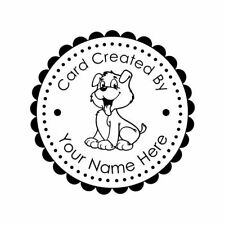 PERSONALIZED  CUSTOM MADE  RUBBER STAMPS UNMOUNTED C52