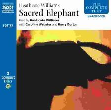 SACRED ELEPHANT by Heathcote Williams, CD, 2 Disc Set, New, Sealed