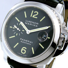 UNWORN PANERAI PAM 104 LUMINOR MARINA 44 mm STEEL PAM 00104