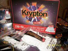 40 Bolsas Filtros   para hacer cigarrillos  liar tabaco , SLIM O,6mm   .KRYPTON