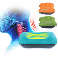 Air Pillow Cushion Mini Inflating Soft Inflatable Outdoor Camping Hiking Travel