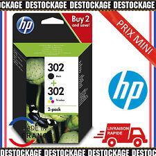 Cartouche encre HP302 Pack 2 imprimante deskjet envy officejet photocopieuse FR