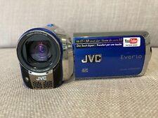 JVC Everio GZ-MS130 16GB Dual Flash Camcorder (Blue)