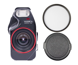 NEW Yashica Samurai x3.0 UV Filter & Lens Cap - Accessory Set