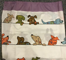 Animal Rescue Site Waterproof Fabric Shower Curtain Adorable Dogs Euc!