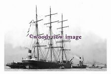 rs0094 - American Sailing Ship - Chillicothe , built 1892 - photograph