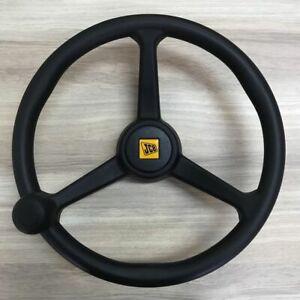 JCB 3CX - Genuine Steering Wheel with Knob (PART NO. 125/35000 125/34900 )