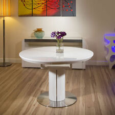 Round Table & Chair Sets with Extending and 5 Pieces