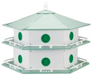 NEW PURPLE MARTIN ALUMINUM BIRD HOUSE HEATH AH-12D 12 APARTMENT 6309116