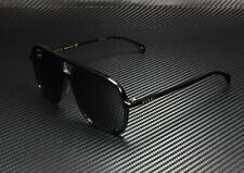 GUCCI GG0545S 001 Aviator Black Shiny Black Grey 58 mm Men's Sunglasses
