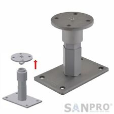 Post Anchors Pluggable + Height Adjustable 141-201mm With Thread Up = 160x100mm
