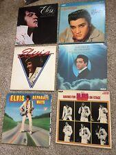 Elvis Presley - Lot Of 6 Vinyl LPs