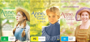 Anne of Green Gables Collection 1, 2 & 3 DVD New & Sealed Megan Follows Trilogy