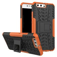 NEW Hybrid Case 2 Pieces Outdoor Orange for Huawei P10 Case Cover Protective