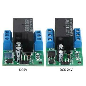 DR25E01 Relay Module 5V 6-24V DPDT Self-Locking Relay Module High Quality