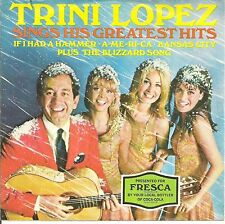 TRINI LOPEZ  45 EP  Sings His Greatest Hits  w/picture sleeve - NM