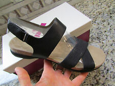 NEW NATURALIZER BLACK STRAPPY SANDALS WOMENS 8  STYLE: AGRATA FREE SHIP