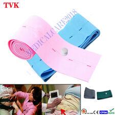 10pcslot M2208a Disposable Abdominal Ctg Fetal Belt Latex Free Bluepink