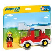 Playmobil 123 Ladder Unit Fire Truck Building Set 6967 NEW Toys Kids