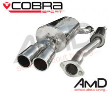 Cobra Sport BMW E46 316i 318i Cat Back Exhaust System Stainless Steel