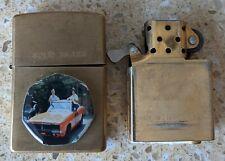 More details for original zippo brass lighter -customised 4 dukes of hazzard -used