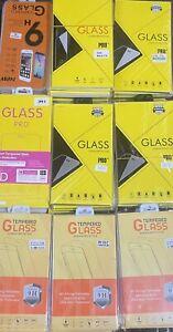 50X iPhone 7/8 7/8Plus,X/XR/ 11/12 Tempered Glass Screen Protectors Bulk Joblot