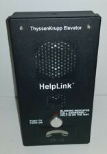 FOR PARTS ThyssenKrupp Elevator HelpLink Intercom HFP2.71 - Untested