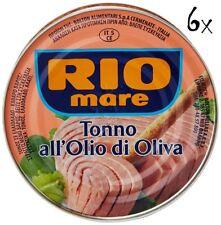 6x Rio Mare Tonno olio di oliva 240g Thunfisch in Olivenöl