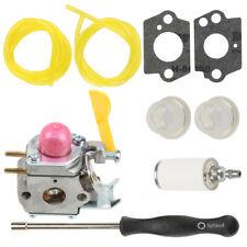Carburetor For Zama C1U-W18 Poulan FL25C FL20C FX26SC XT260 adjustment tool Kit