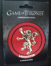 GAME OF THRONES EMBROIDERED PATCH :LANNISTER 2013