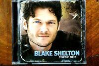 Blake Shelton - Startin' Fires  -  CD, VG