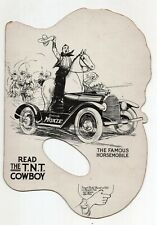 Vintage Moxie Fan with Moxie Horsemobile